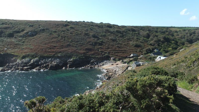 Penberth Cove from the Coast Path