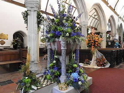 Flower Festival at St Mawgan in Pydar Church