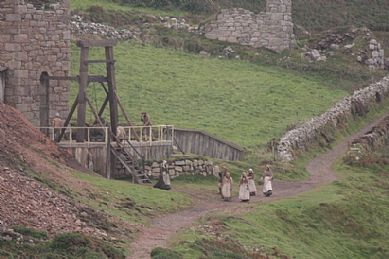 Behind the Scenes of Poldark at Botallack
