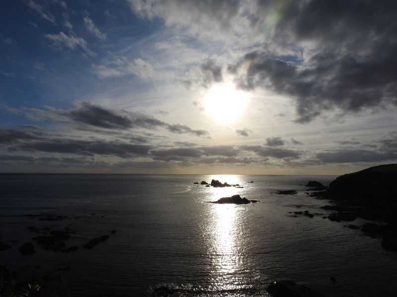 Sunset from Lizard Point