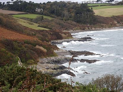 Autumn on the Coastline near Rosemullion Head on the South Coast