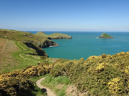 The Rumps and Pentire Point