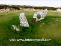 Men-an-Tol, holed stone, Morvah near Penzance, Cornwall