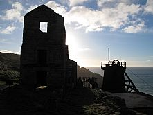 Levant Mine near Penzance, Cornwall