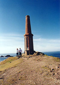 Chimney on Cape Cornwall
