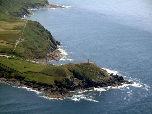 Cape Cornwall from the air