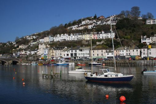 Looe and the river - From West Looe