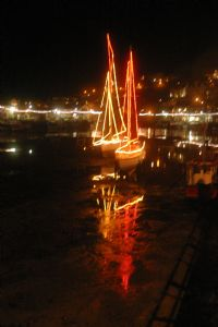 Looe at Christmas