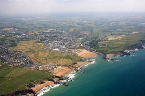 Bude Map On Into Cornwall Guide