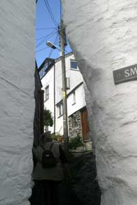 Port Isaac's narrow streets
