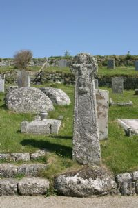Church yard at St Levan
