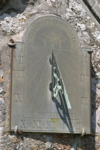 St Levan Church sundial