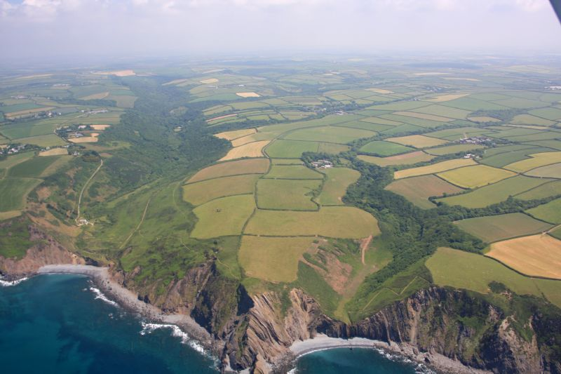 Marsland Mouth from the air