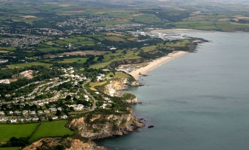 Carlyon Bay's Crinnis beach and hotels