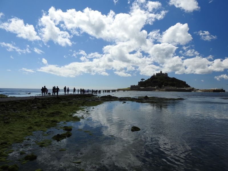 Causeway from Marazion to St Michael's Mount
