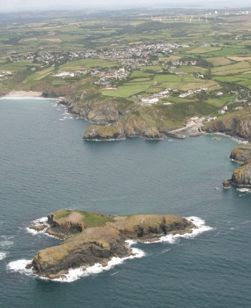 Mullion Island and Cove