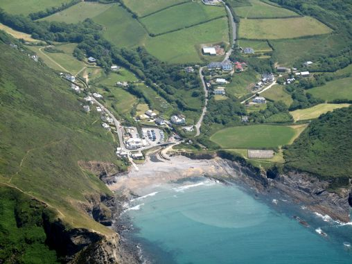 Crackington Haven Beach Information On Into Cornwall Guide