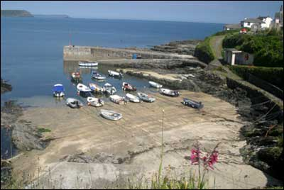 Portscatho Beach Information On Into Cornwall Guide