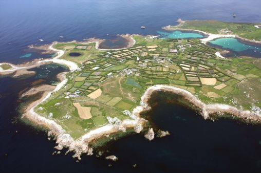 St Agnes Isles Of Scilly Map On Into Cornwall Guide