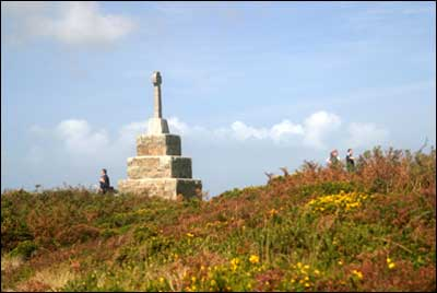 Tregonning Hill Cornwall Tourist Guide Amp Map Events