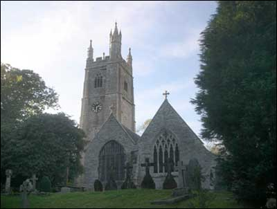 St Mawgan Church, Mawgan in Pydar, Cornwall