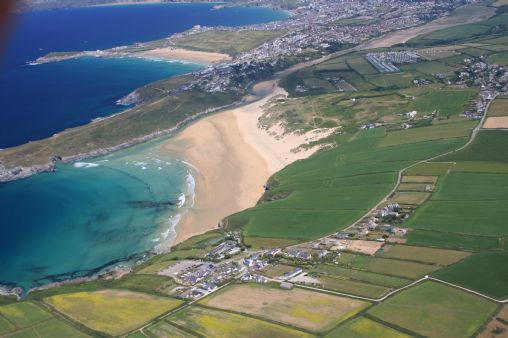 Crantock Beach Information On Into Cornwall Guide