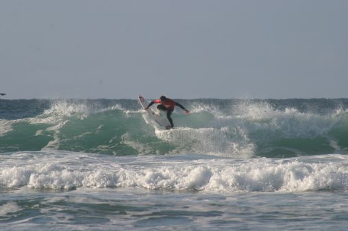 Surfing at Newquay, Fistral Beach