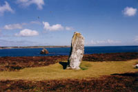 Old Man of Gugh Standing Stone, Isles of Scilly