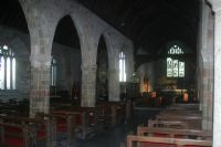 St Keverne Church interior