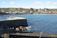 Coverack old lifeboat slipway