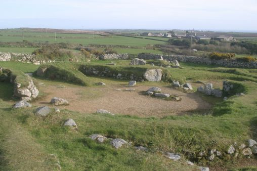 Carn Euny, Sancreed, near Penzance