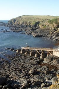 Old Lifeboat Slipway, Polpeor Cove, near Lizard Point