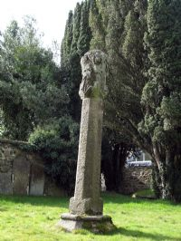Lantern head cross in Callington churchyard
