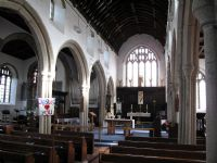 Interior of Callington Parish Church