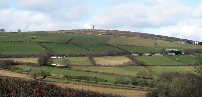Callington stands at the foot of Kit Hill