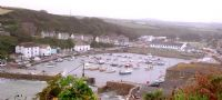 Porthleven Harbour in Winter