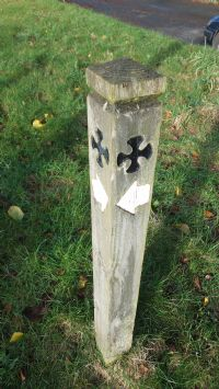 Signpost Symbol for the Saints' Way