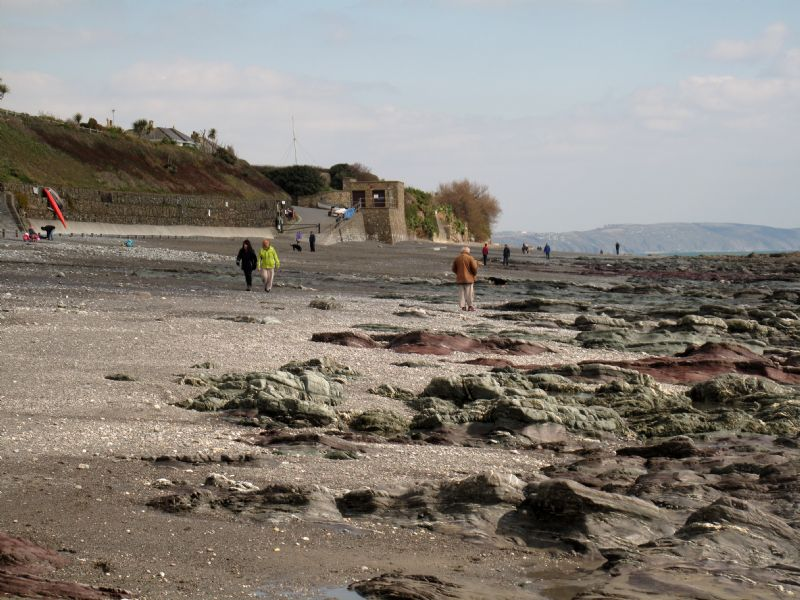 Slipway onto Downderry Beach