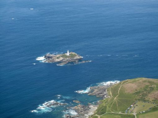 Godrevy Lighthouse Map On Into Cornwall Guide
