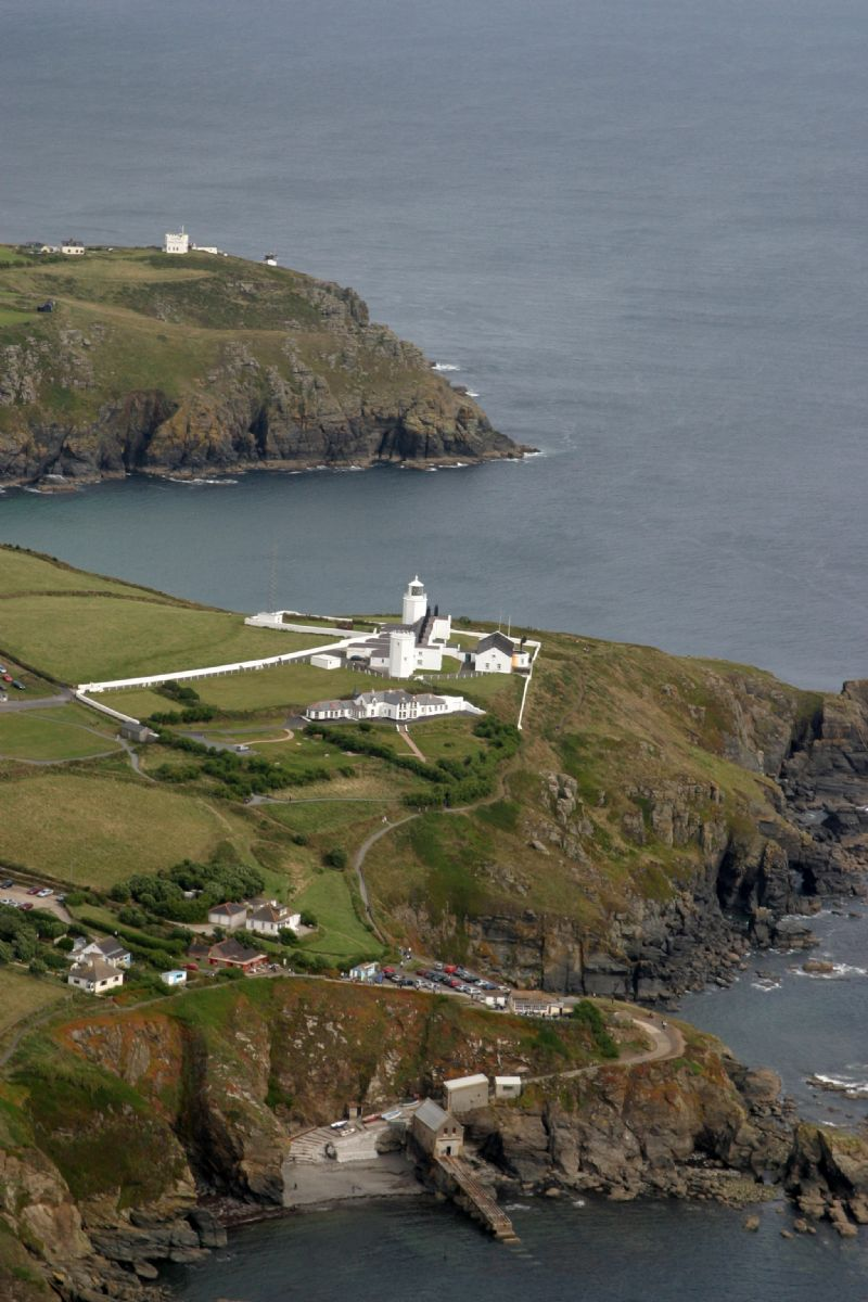 Lizard Lighthouse from the air