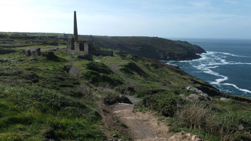 Levant to Botallack Coast Path