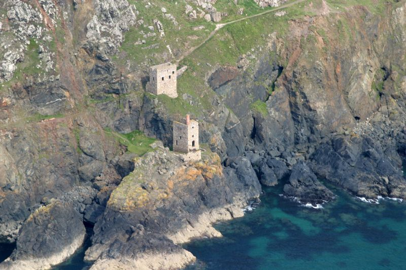 Crowns Engine Houses at Botallack