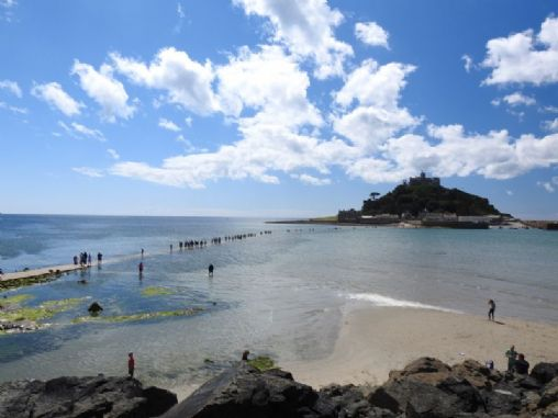 St Michael S Mount Cornwall Tourist Guide Amp Map Events