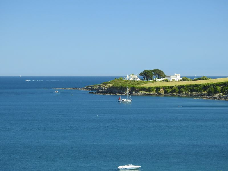 Chapel Point from Portmellon, near Mevagisey