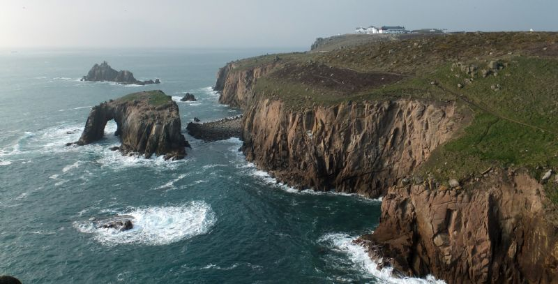 Land's End is one of Britain's most magnificent landmarks offering stunning scenery and a great day out for all the family in Cornwall, UK.
