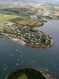 St Mawes from the air