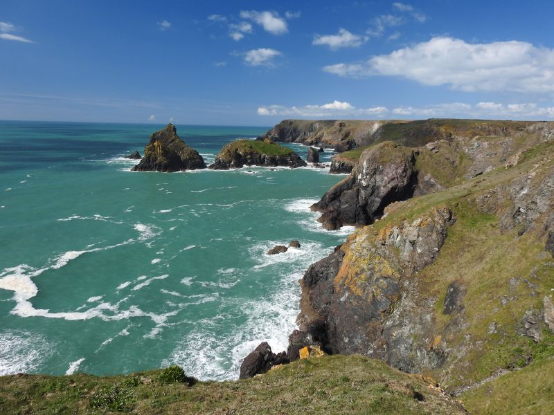 Kynance Cove from Yellow Carn