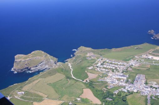 Tintagel and the Island