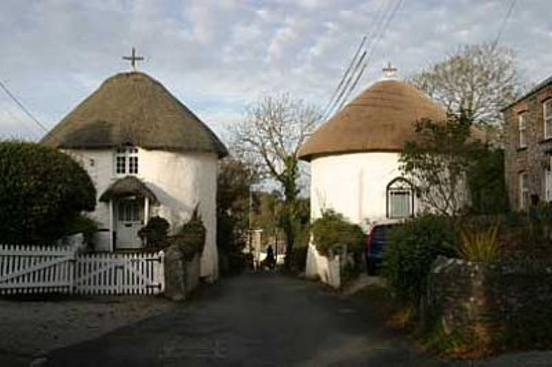 Round Houses at Veryan