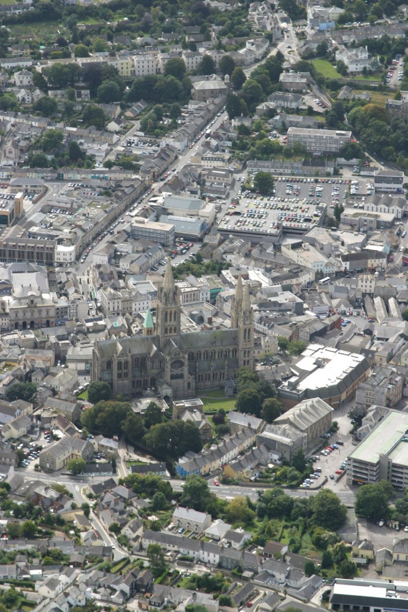 Truro from the air